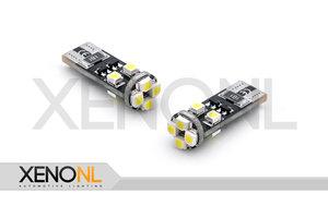 T10 Canbus SMD LED 8 wit blauw rood oranje