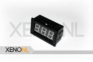 Mini digitaal voltmeter
