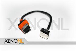 D1S lamp naar ballast kabel