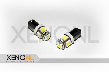 BA9S SMD 5 LED wit bajonet