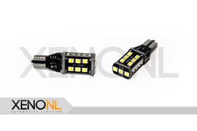 T15 W16W Canbus 15 led wit